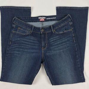 Levi's Denizen Modern Boot Cut Stretch Jeans 14